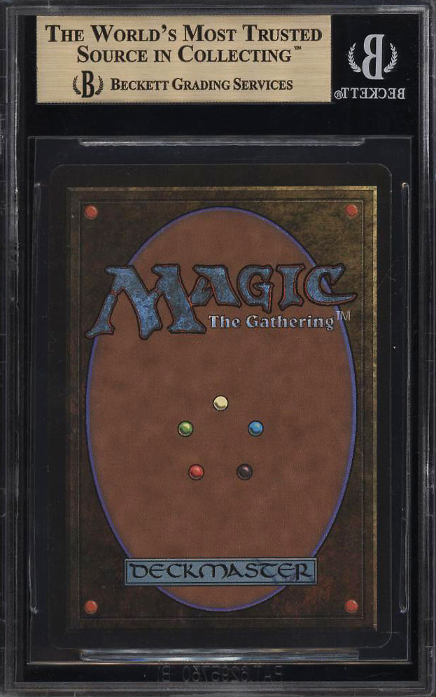 Image 2 of: 1993 Magic The Gathering MTG Beta Time Walk R B BGS 9.5 GEM MINT (PWCC)