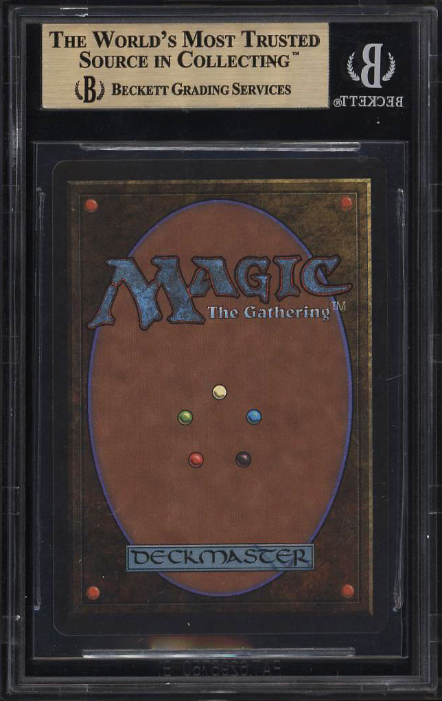 Image 2 of: 1993 Magic The Gathering MTG Beta Mox Pearl R A BGS 9.5 GEM MINT (PWCC)