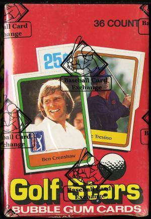 Image of: 1981 Donruss Golf Wax Box, 36ct Wax Packs, Jack Nicklaus?, BBCE Auth (PWCC)