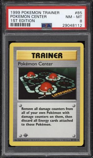 Image of: 1999 Pokemon Game 1st Edition Pokemon Center #85 PSA 8 NM-MT (PWCC)