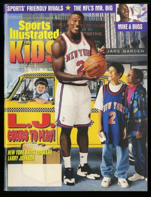 Image of: 1996 Sports Illustrated For Kids Tiger Woods #536 ROOKIE RC Full Magazine (PWCC)
