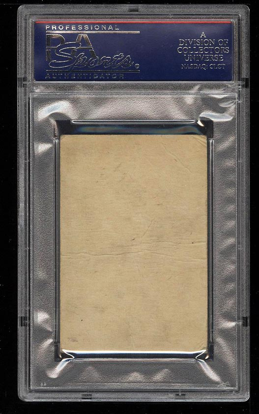 Image 2 of: 1933 Uncle Jacks Candy King Of Swat Babe Ruth PSA 1 PR (PWCC)