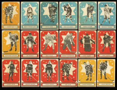 Image of: Lot(56) 1933 O-Pee-Chee Series A & B w/ King Clancy Bailey Morenz, PR/GD (PWCC)