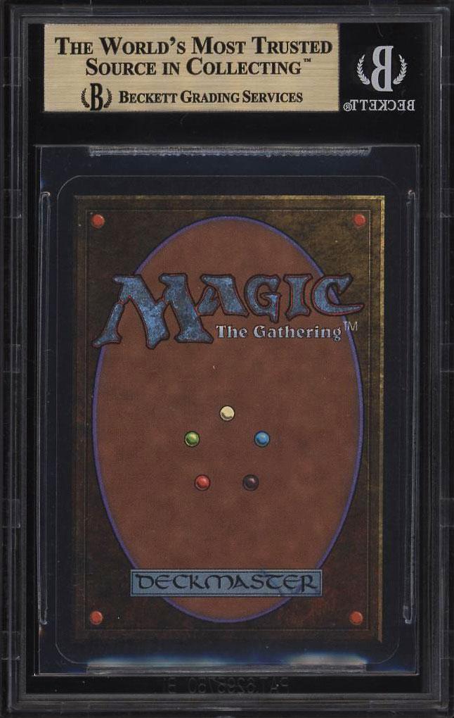 Image 2 of: 1993 Magic The Gathering MTG Alpha Ancestral Recall R B BGS 9.5 GEM MINT (PWCC)