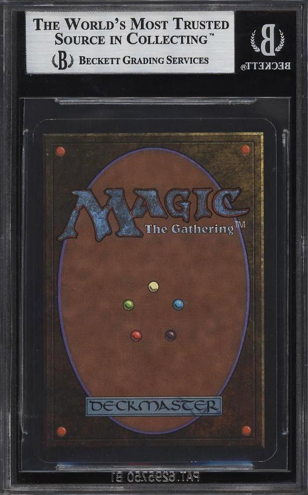 Image 2 of: 1993 Magic The Gathering MTG Alpha Black Lotus R A BGS 9 MINT (PWCC)