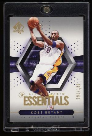 Image of: 2005 SP Authentic Limited Essentials Kobe Bryant /100 #106 (PWCC)