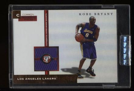 Image of: 2005 Topps Pristine Common Personal Pieces Kobe Bryant PATCH /7 #PPC-KB (PWCC)