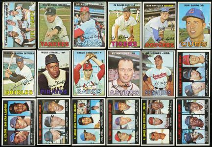 Image of: 1967 Topps Mid-Grade Partial Set (493) Kaline Drysdale Carlton McCovey (PWCC)