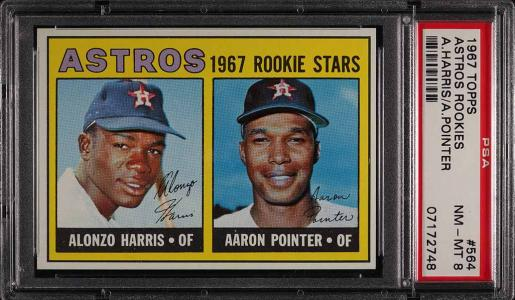 Image of: 1967 Topps Astros Rookies #564 PSA 8 NM-MT (PWCC)