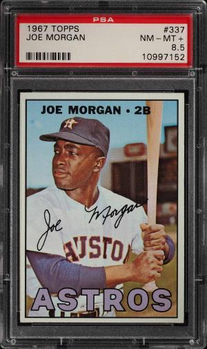Image of: 1967 Topps Joe Morgan #337 PSA 8.5 NM-MT+ (PWCC)