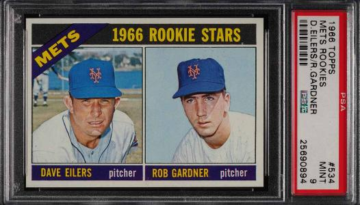 Image of: 1966 Topps Mets Rookies #534 PSA 9 MINT (PWCC)