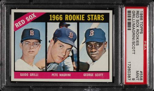 Image of: 1966 Topps George Scott ROOKIE RC #558 PSA 9 MINT (PWCC)