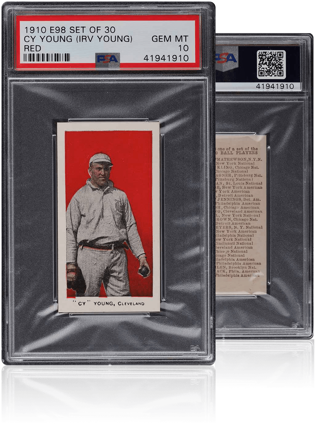 Cy Young Card