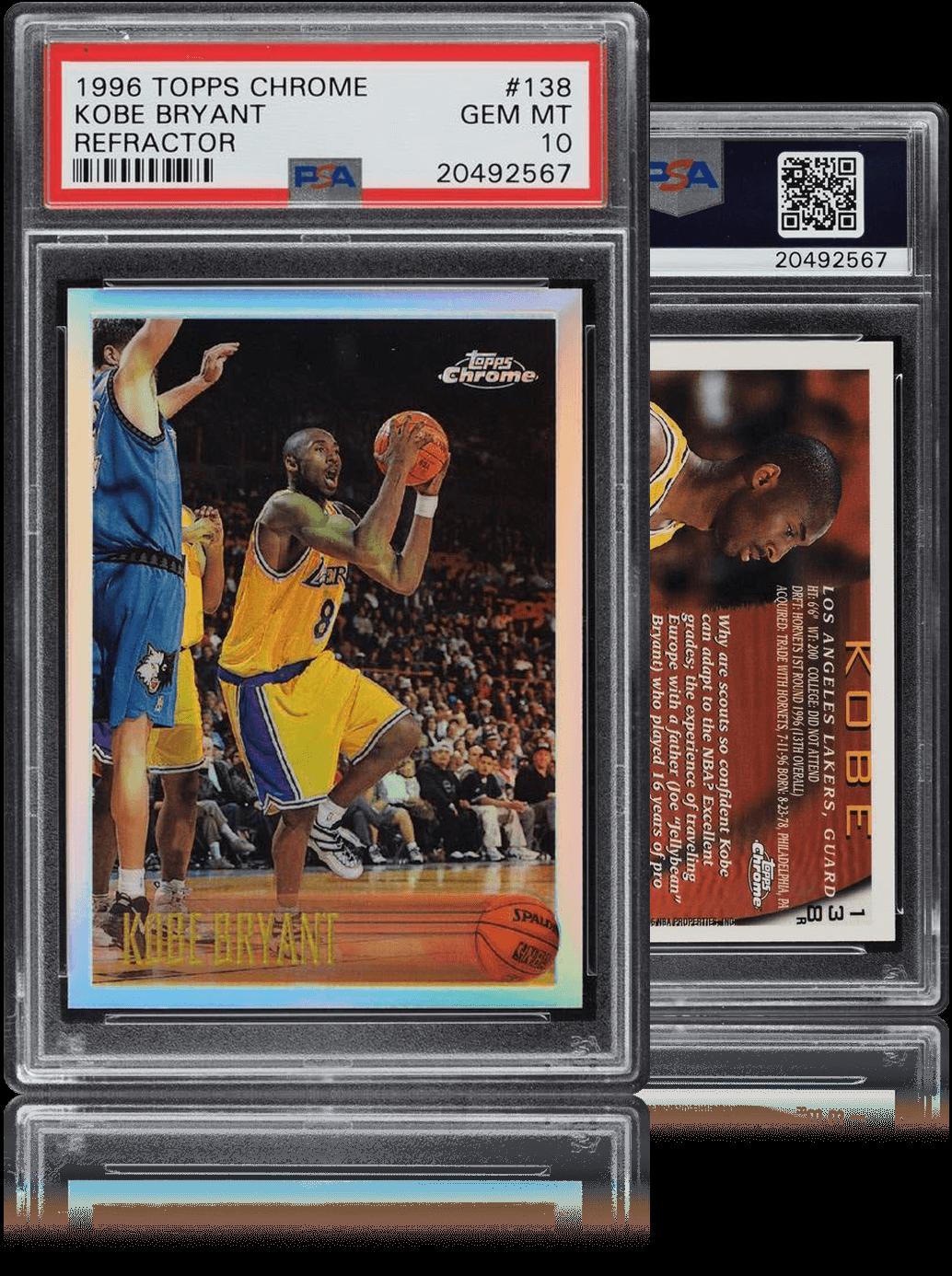 Kobe Bryant Topps Card