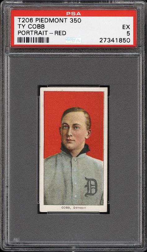 Ty Cobb Tobacco Card