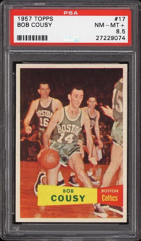 Bob Cousy Card