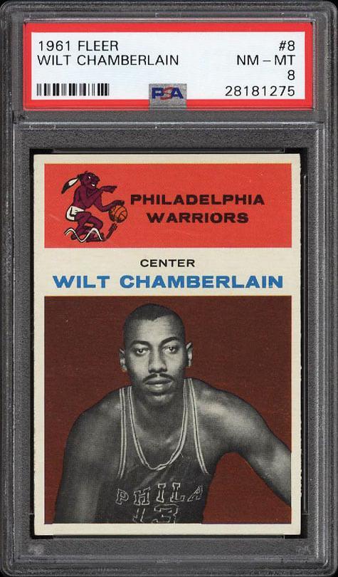 Wilt Chamberlain Card