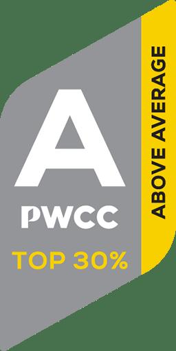 PWCC-A Sticker