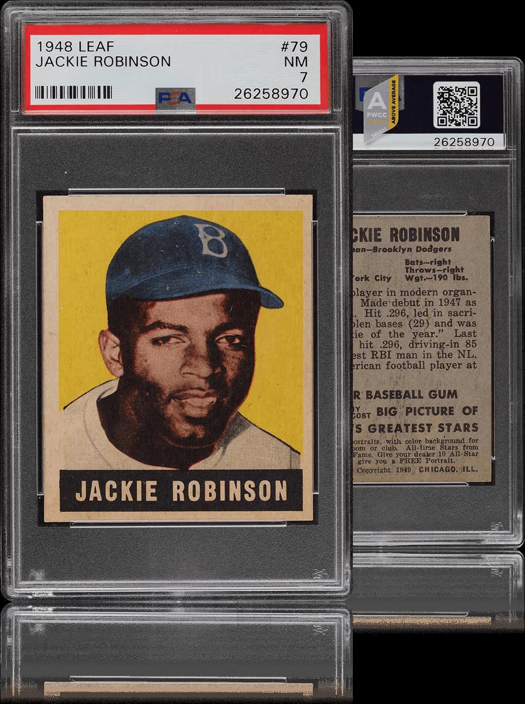 Jackie Robinson Card