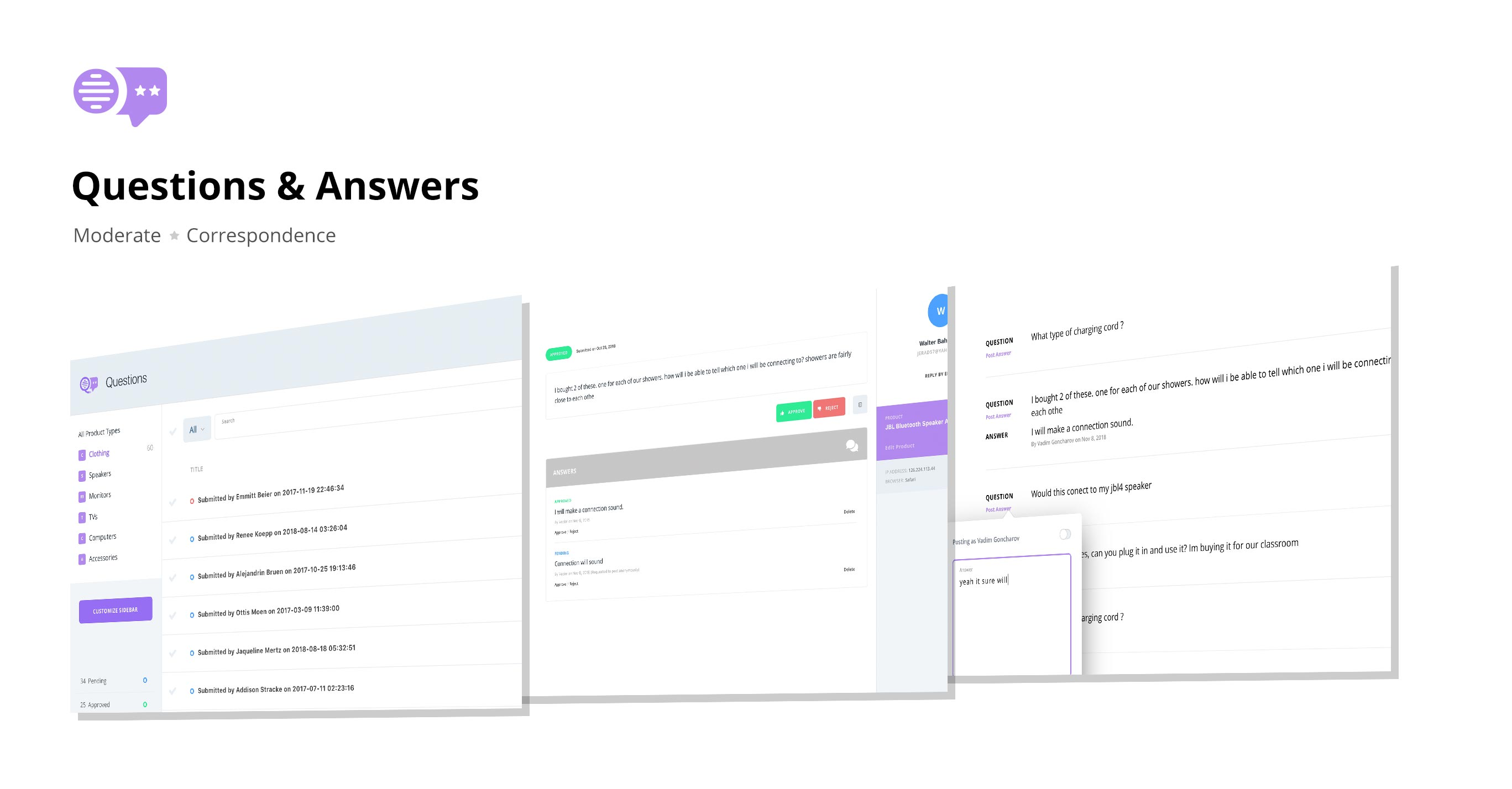 QARR Questions & Answers