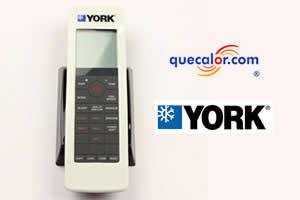 Control Remoto York Para Minisplit Frio Calor De 1 A 5 TR, Modelo 00H10401314J , Compatible, YSKA ( High Wall R22) , YSEC ( High Wall R410 ),  YHFF ( Piso Techo R22), YJH ( Inverter ) , YH9 ( High Wall R410a )