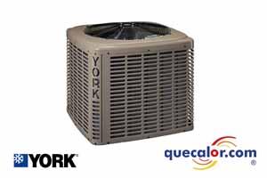 Condensadora YORK De 2.5 TR, Solo Frio, R410a, 13 SEER, 220/1/60