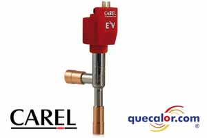 Valvula De Expansion Electronica CAREL Tamaño 30, Modelo E2V30BSM00.  Hasta  12.0 TR ( R22@44 C Tc/-20 C Tev ) Conexion De 12-12 Mm De Cobre P/soldar