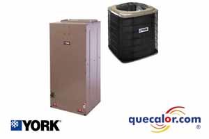 Condensadora  YORK de 1.5 TR solo Frio, R22 O R407C, 220/3/60, 10 SEER