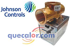 Valvula De Zona De 3/4 Pulg, Conexion Roscada, 2 Vias, 120 V, Johnson Controls Modelo JT2323G13B020, Cv 3.5, Presion De Cierre 25 Psig, Normalmente Cerrada