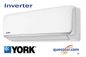 Minisplit Inverter YORK HighWall, 24000 Btu YHJE23ZT6AMHORX, Solo Frio ,  220/1/60 , 17 SEER