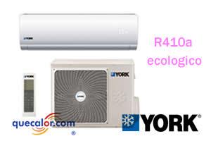 Minisplit York De 1.5 TR Frio Y Calefaccion High-Wall, R410a, 11.4 SEER, Voltaje 220/1/60, Modelo YH9FZH18BAH-AFX