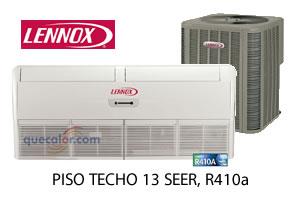 Minisplit Piso Techo Lennox, 5 TR. Solo Frio 220/1/60. LXGUCMD060100P20-3 / 13ACX-060-230. R410, 13 Seer.