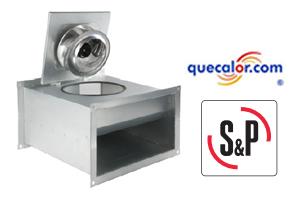 Ventilador Centrifugo Para Instalacion En Linea Soler & Palau Modelo ICC225 , 534 M3h / 314 Cfm, 210 Watts, Voltaje 115/1/60
