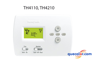 Termostato electronico Programable 5-2 1 calor/ 1 frio,  Heat Pump Honeywell