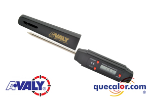 Termometro De Bolsillo Digital Tipo Pluma, Marca AVALY, Modelo VA-300A, Rango -40 C A 250 C