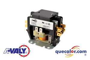 Contactor Magnetico AVALY 24 V, 40A, 2 polos