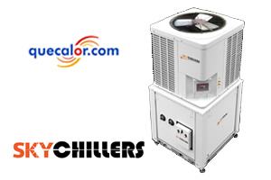 Chiller Scroll Compacto Enfriado Por Aire Skychillers De 60,000 Btu Mod SKCLA060A06CMPCT