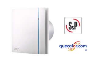 Extractor Baño | Extractor Silent Design 100 Soler Palau En Quecalor Com