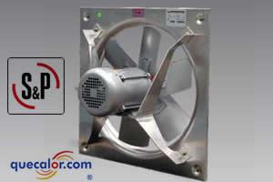Extractor Axial A Prueba De Explosion SOLER & PALAU Mod HEP 500 230-460/3/60, 1740 RPM, 1/2 HP, 7,800m3/h.
