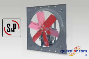 Extractor Axial HIT-1250 Soler & Palau. 3/4 HP, 220/440 V.