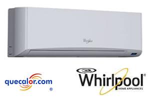 Minisplit Whirlpool Hi-Wall 1.5 TR, Solo Frio 220/1/60. R22. Mod WA3123Q
