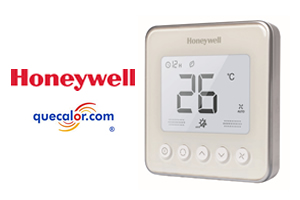 Termostato Digital Para Fan And Coil Honeywell, 4 Tubos, 110 Volts, Color Blanco