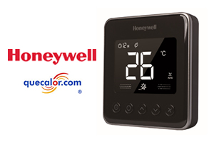 Termostato Digital Para Fan And Coil Honeywell, 4 Tubos, 110 Volts, Color Negro