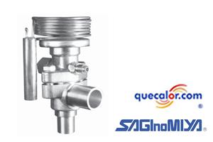Valvula Termostatica De Expansion Con Igualador Externo ATX-57060-DHG Para R-22 , Capacidad De 9.7 TR Saginomiya.