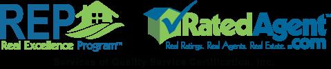 REP/RatedAgent Logo