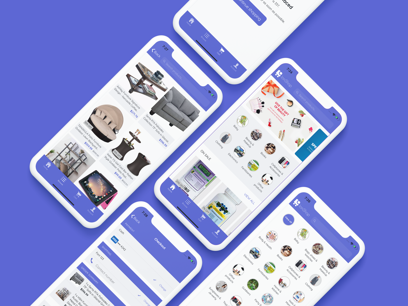 IonShop 2 Ionic 4 Starter Template