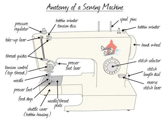 Understanding The Sewing Machine Other Quiz Quizizz Amazing How To Set Up A Sewing Machine