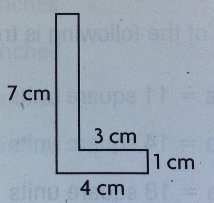 How many square centimeters are in the one sheet of paper?