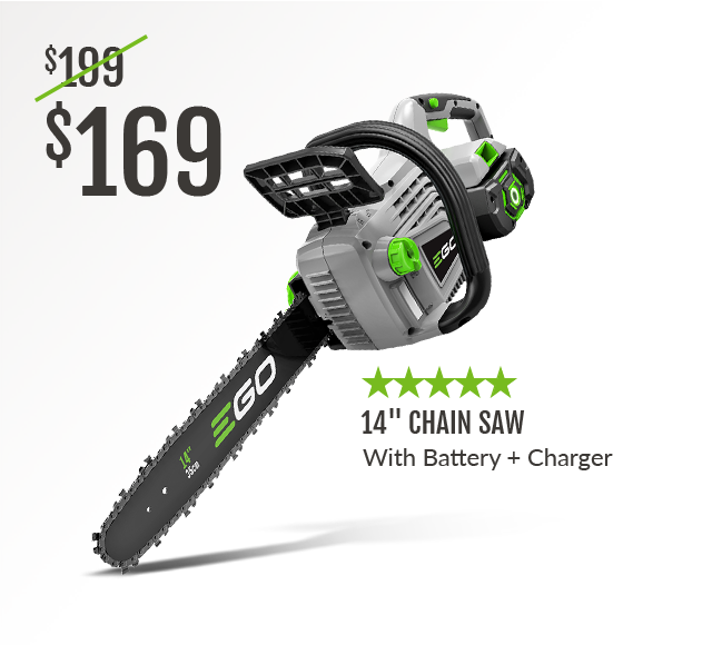 14inch Chainsaw with Battery and Charger