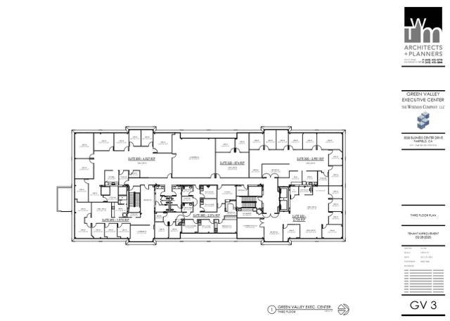 GVEC Third Floor Plan